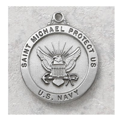 Hand Engraved New England Pewter Medal Military Armed Forces Us Navy Medal with 24