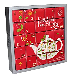 english tea shop organic pink advent calendar 24 silken. Black Bedroom Furniture Sets. Home Design Ideas