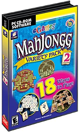 Mahjongg Variety Pack 2 (PC CD)