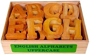 Little Genius English Alphabets Uppercase, Multi Color