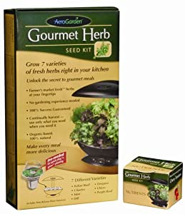 AeroGarden Gourmet Herb Seed Kit (6-7-Pod) (Discontinued by Manufacturer)