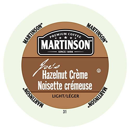Martinson Joe's Coffee, Hazelnut Creme,0.34 Ounce, 24 Single Serve RealCups (Martinson Coffee Can compare prices)