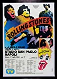 ROLLING STONES * ITALIAN CINEMASTERPIECES VINTAGE ORIGINAL TOUR MUSIC ROCK POSTER 1982 EXTREMELY RARE Amazon.com