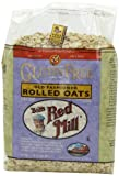 Bobs Red Mill Gluten Free Whole Grain, Rolled Oats, 32-Ounce Bags (Pack of 4)