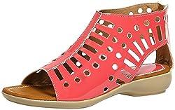 Craze Shop Girls Apple Red Artificial Leather Sandals - 9 UK