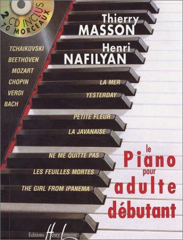 Méthode de piano pour adulte débutant