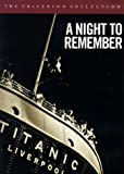 echange, troc A Night to Remember - Criterion Collection [Import USA Zone 1]