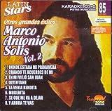 echange, troc Karaoke - Latin Stars Karaoke: Marco Antonio Solis, Vol. 2
