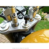 15mm-17mm Motorcycle Bike Fork Stem Yoke GPS Mount for Garmin Zumo 390LM