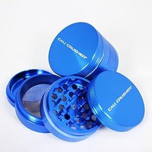 Authentic Cali Crusher® Ultra Premium Herb Grinder 4 Piece Small Blue (cc-6-BL) by Cali Crusher�