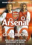 Centurions - 100 Goals Of Dennis Bergkamp/Thierry Henry [DVD]