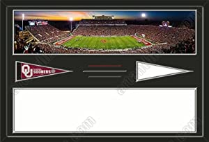 Oklahoma Sooners Oklahoma Memorial Stadium & Your Choice Of Stadium Panoramic... by Art and More, Davenport, IA