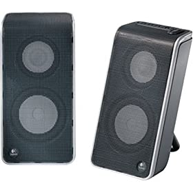 51QYCAZREEL. SL500 AA280  Logitech V20 Notebook Speakers   $11 Shipped