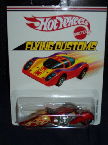 Hot Wheels Flying Customs Scorchin Scooter W-Oozie