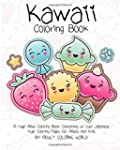 Kawaii Coloring Book: A Huge Adult Co...