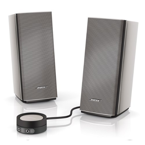 bose companion 20 pc lautsprecher system silber. Black Bedroom Furniture Sets. Home Design Ideas