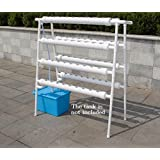 Double Side 8 Pipe Hydroponic 70 Plant Site Grow Kit,hydroponics Planting Equipment #141078