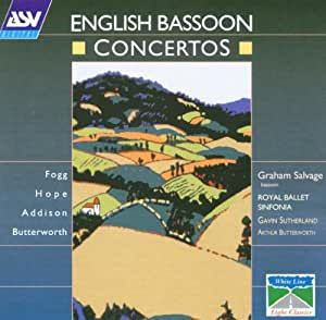 English Bassoon Ctos