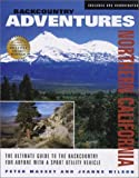 img - for Backcountry Adventures: Northern California by Massey, Peter, Wilson, Jeanne (2002) Paperback book / textbook / text book
