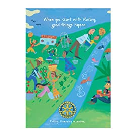 Start with Rotary Postcards (Set of 20)