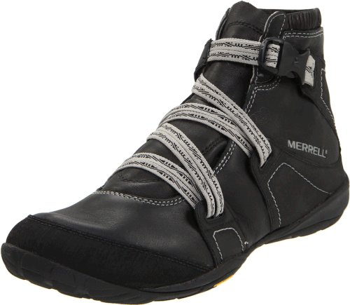 Merrell Women's Power Play Glove Barefoot Shoes - Black 8