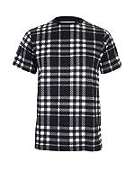 Zoo York Camiseta Manga Corta Seabrook (Negro / Blanco)
