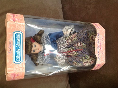 Collectible Memories Genuine Porcelain Doll Michelle