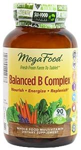 MegaFood Balanced B Complex 90 Tablets
