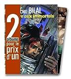 echange, troc Enki Bilal - 2 albums pour le prix d'1 : La Foire aux immortels + XXe ciel.com, tome 1 en cadeau