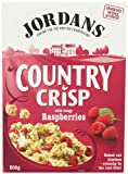 Jordans Country Crisp Raspberry Clusters 500 g (Pack of 3)