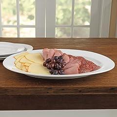 BIA Cordon Bleu 20 -Inch Porcelain Oval Serving Platter, White by BIA Cordon Bleu