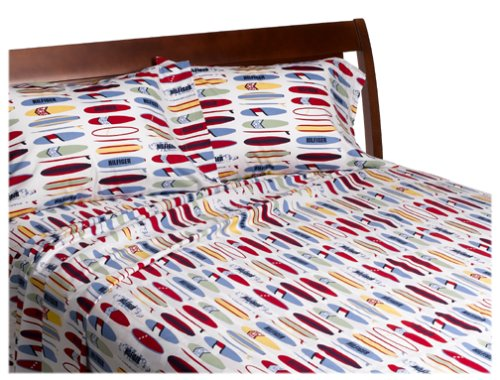 Tommy Hilfiger Surfing 4pc Full-Double Bedding Sheet Set