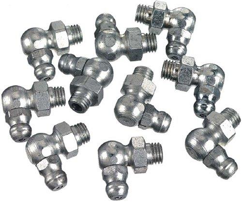 Lincoln Lubrication 5490 1/8″ Pipe Thread 90 Degree Angle Fitting, (Card of 10) image
