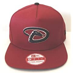 Arizona Diamondbacks Retro New Era Flip Up Snapback Cap Hat Burgundy
