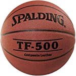 Spalding 64-4528 Top Flite 500 Men's Wide Channel Composite Leather Basketball