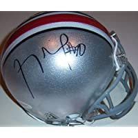 Troy Smith Signed Autograph Ohio State Buckeyes Osu Mini Helmet Authentic Certified Coa