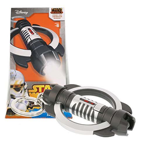Disney Star Wars Rebels Inquisitor Lightsaber KeyLite Key Chain with Bright LED