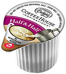 International Delight Coffee House Inspirations Half and Half, 180 Count Single-Serve Coffee Creamers