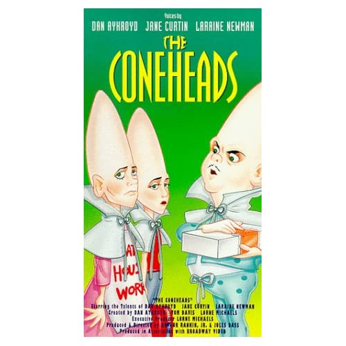 Amazon.com: The Coneheads (Animated TV Series) [VHS