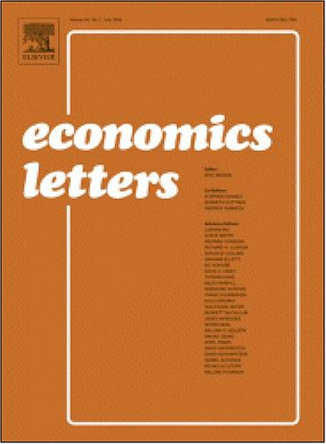 Identifying externalities in UK manufacturing using direct estimation of an average cost function [An article from: Economics Letters]