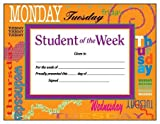 Student of the Week Award Certificate (0742403300) by School Specialty Publishing