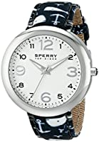 Sperry Top-Sider Women's 10014919 Sandbar Analog Display Japanese Quartz Blue Watch by Sperry Top-Sider Watches MFG Code