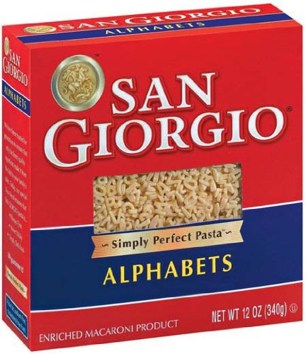 San Giorgio Alphabets - 15 Pack