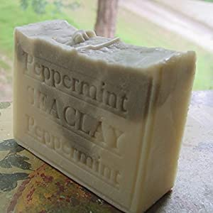 Peppermint with Sea Clay and Shea Butter Soap