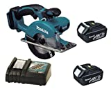 Makita 18V LXT BCS550 BCS550Z BCS550Rfe Circular Saw, 2 X BL1830 Batteries And DC18RC Charger