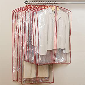 brylanehome set of 13 zippered garment bags