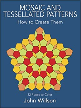 Mosaic and tessellated patterns how to create them with for How to draw mosaic patterns