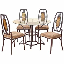 Glass Dinette Sets From Target Dining Room Furniture