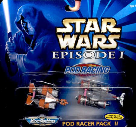 Star Wars Episode 1 Pod Racing 2 Pod Racer Pack II - 1