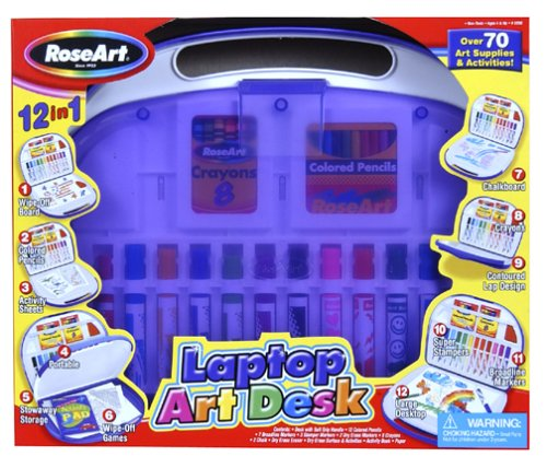 Laptop Art Desk: Purple by Mega Brands - Buy Laptop Art Desk: Purple by Mega Brands - Purchase Laptop Art Desk: Purple by Mega Brands (Mega Brands, Toys & Games,Categories,Arts & Crafts,Craft Kits)